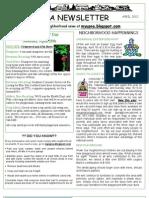 April 2012 Newsletter