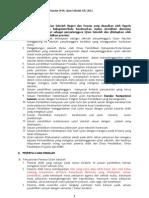 Rancangan POS Ujian Sekolah 2012