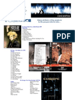 DVDs Musicales - Rock, Jazz, Blues
