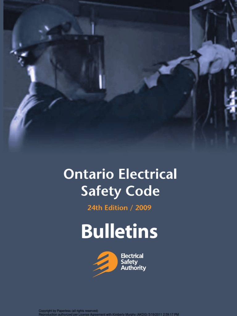 Electrical safety code bulletins 2009 electrical wiring cable keyboard keysfo Images