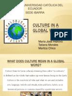 Culture in a Global World