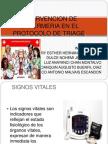 Intervencion de Enfermeria en El Protocolo de Triage