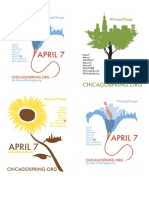 A7 Handbills Occupy Chicago - Chicago Spring