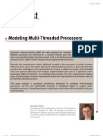 Multi Threaded Processors