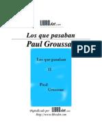 Los Que Pasaban - Tomo II - Libro Dot