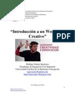 Introducción a un Workshop Creativo