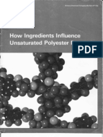 How Ingredients Influence Unsaturated Polyester Properties