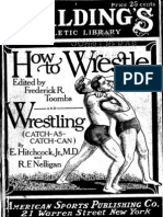 (1916) How to Wrestle Catch as Catch Can- E. Hitchcock Jr and R. F. Nelligan