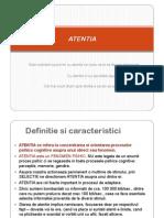 11.Activitati psihice - ATENTIA
