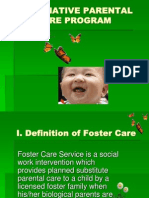 Foster Care-Presentation Power Point