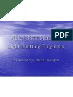 Light Emitting Polymers_Diana Izaguirre