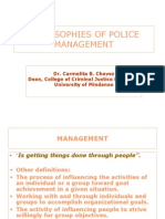 Philosophies of Police Management_ppsc Obc