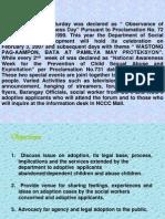 RATIONALE Objectives Forum