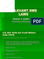 Relevant Swd Laws