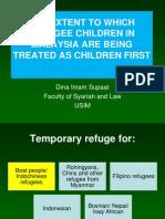 DINA ISCOL2012 Children First