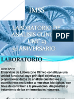 laboratorio presentacion aniversario