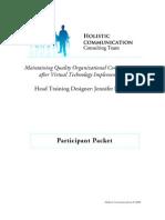 Participant Packet