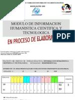 Modulo de ion Humanistic A Cientifica y Tecnologica