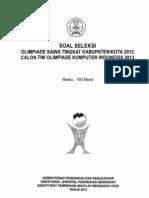 Soal OSK Bidang Informatika Komputer IF02