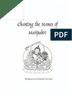 Manjushri Namasangiti