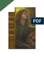 King, Francis - Ritual Magic of the Golden Dawn I