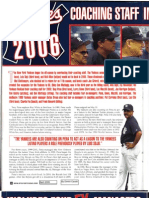 """""""Yankees Coaching Staff in 2006 Includes Four Ex-Managers"""" by Dimitri Cavalli in New York Sportscene magazine (April 2006)"""