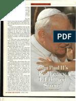 """John Paul II's Real Legacy"