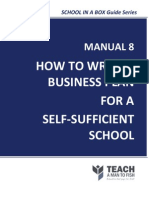 Manual8-HowtoWriteABusinessPlanforaSelf-SufficientSchool