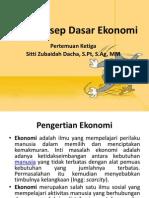 Bab. Konsep Dasar Ekonomi_Pertemuan 3