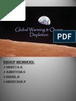Global Warming PPT SEM4