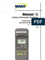 Monoxor III manual