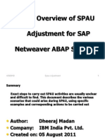 Abap Upgrade SPAU Adjustment