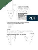Membuktikan Rumus Luas Layang-layang (Proving the formula of a kite area)