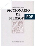 Ferrater Mora - Dicc de Filosofia E