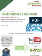 TRANSFORMATION & THE CITIZEN - Connected Kenya - Sylvia Mulinge