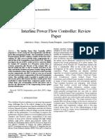 Interline Power Flow Controller Review Paper