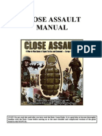 Preview of Close Assault Advanced Manual for BRPG