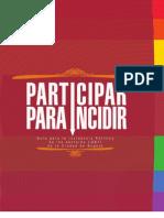 Guía para la Incidencia Política de los sectores LGBTI de la ciudad de Bogotá