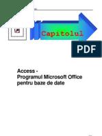 Access-Programul Microsoft Office Pentru Baze de Date