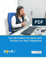 Empleo con apoyos Guía para familias