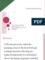 Cardiopulmonary by Pass