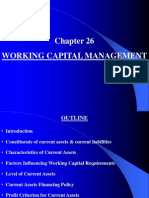 Chapter Working Capital Management