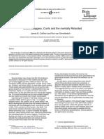 Title Insert (Derogatory Words) Research Study