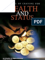 87929286 the Evil of Craving Wealth and Status