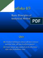 Anfisko I-3 Dasar Dasar Metode Analisis