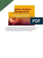 Pediatric Asthma Management