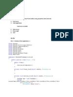 Dot Net Workshop(20!10!2011)