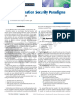 Aceituno Canal - On Information Security Paradigms
