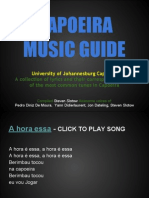 Capoeira Music Guide - LYRICS WITH SONGS