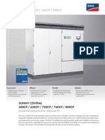 Sunny Central Inverter Specification